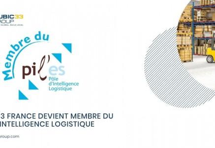 Cubic33 France, membre du Pil'es (Pôle d'Intelligence Logistique)
