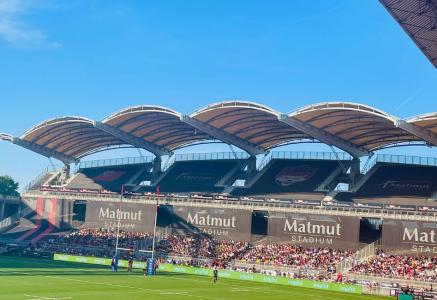 Cubic33 France, supporter du LOU Rugby renouvelle pour sa quatrième année consécutive son partenariat avec le club.
