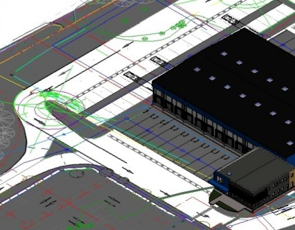 Réalisation d'un clé en main quais de transit logistique du froid