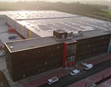 Bâtiment logistique inauguration